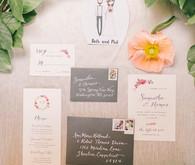 paper airplane wedding programs wedding amp party ideas