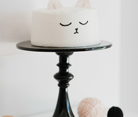 Kitty Cat birthday cake
