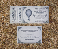 Farm wedding invitations