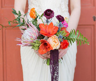 Colorful spanish inspired bouquet