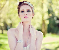 Spring bridal accessories