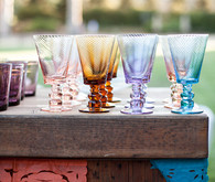 Cinco de Mayo colorful glassware