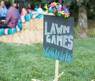 Cinco de Mayo rehearsal dinner lawn games