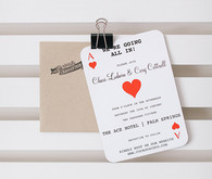 Ace Hotel wedding invitations