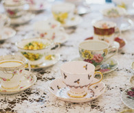 Tea party baby shower