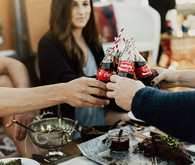 July 4th party ideas with Coke