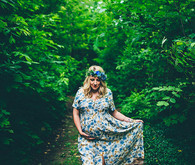 Forrest maternity photos