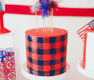 Fourth of July cake