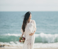 Boho maternity photos