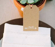 Succulent escort card display