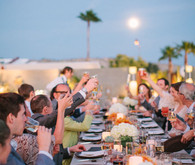 Palm Springs wedding reception