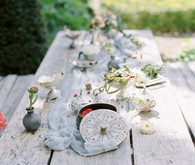 Italian wedding tablescape
