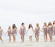 Bridesmaid beach portrait
