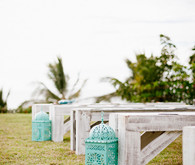 Vintage ceremony seating