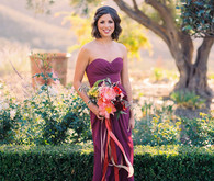 Bridesmaid portrait