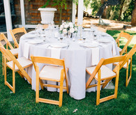 Wedding tables cape