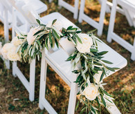 Ceremony wedding florals