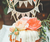 Wedding bundt cake