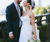 Upstate New York wedding portrait
