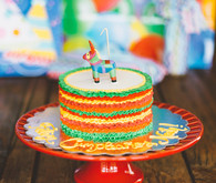 mexican theme first birthday cake