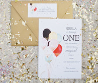 first birthday invites