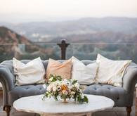 Malibu Rocky Oaks wedding florals