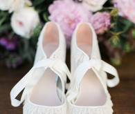 BHLDN wedding shoes