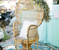 Mexican wicker chair