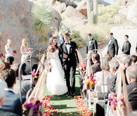 Arizona wedding ceremony