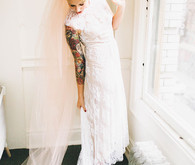 Loho Bride wedding dress