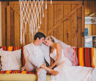 Postcard Inn wedding portrait