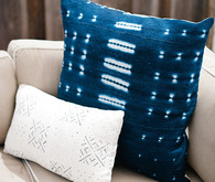 indigo pillows