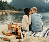 Vancouver lake engagement inspiration