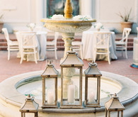Romantic, Italian inspired wedding decor