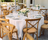Romantic Italian inspired wedding tablescape