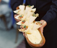 Italian inspired wedding appetizers