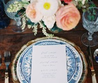 Vintage Spanish inspired place setting