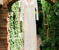 Julie Vino lace wedding dress