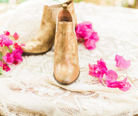 Bohemian wedding shoes