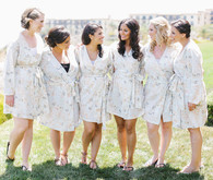 Bridesmaids wedding portrait