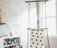 DIY room swing