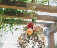 Rustic wedding florals