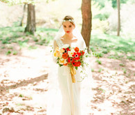 Central park bridal portrait