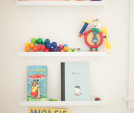 Primary shared kids room