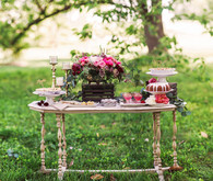 Dessert tablescape