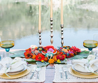 Spanish-style tablescape