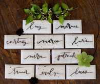 Tile escort cards