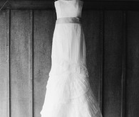 Vera Wang edding dress