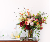 Summer entertaining floral arrangement