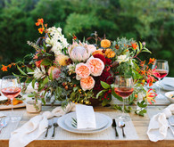 End-of-summer tablescape